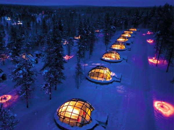 hotel igloo village